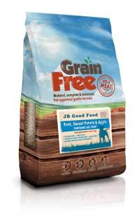 Grain Free dog food for puppies, adults and senior dogs
